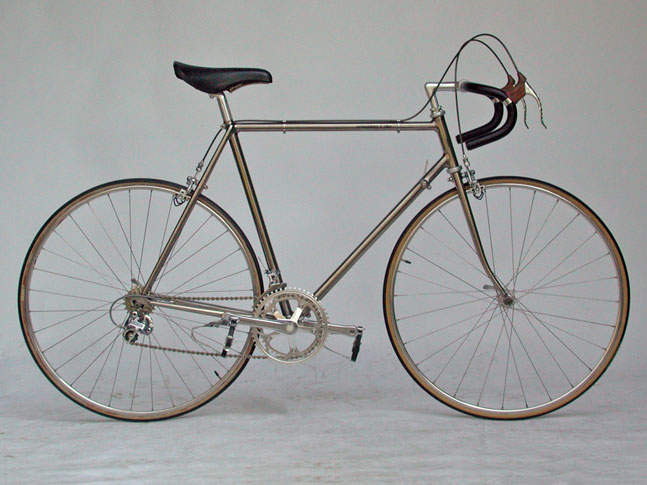 lamborghini titanium road bike 1984. Black Bedroom Furniture Sets. Home Design Ideas